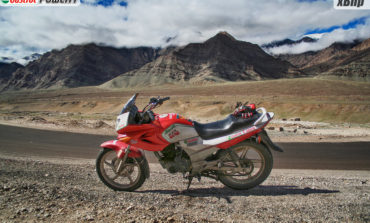 Motorcycling to Ladakh : Part 2 : The Motorcycle