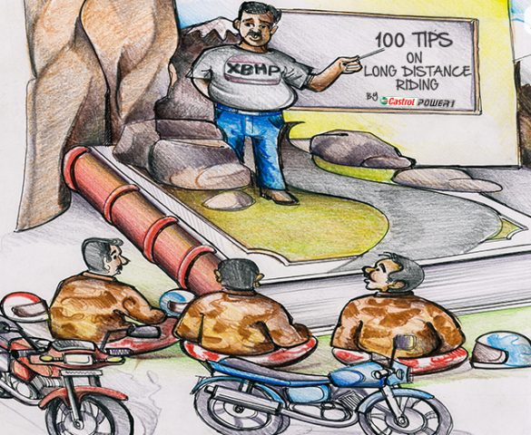 100 Tips on Long Distance Riding